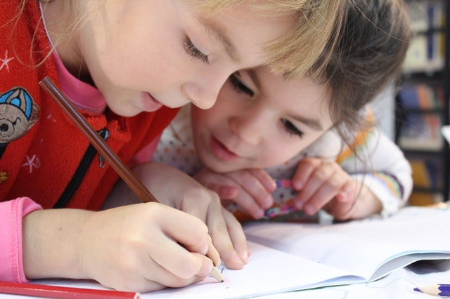 Child learning through observation